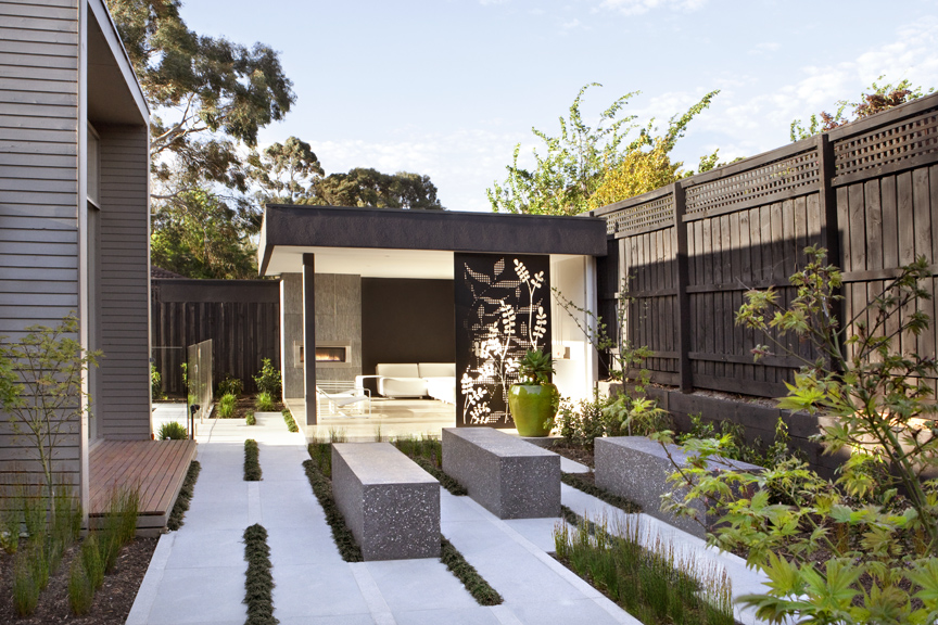 Australian House Garden Magazine Feature Outdoor Rooms