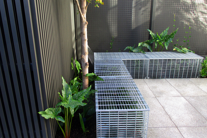 Ian barker gardens receive 2 highly commended awards at for Courtyard designs melbourne
