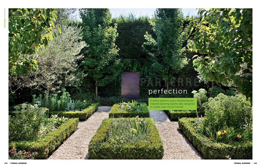 formal gardens bookazine