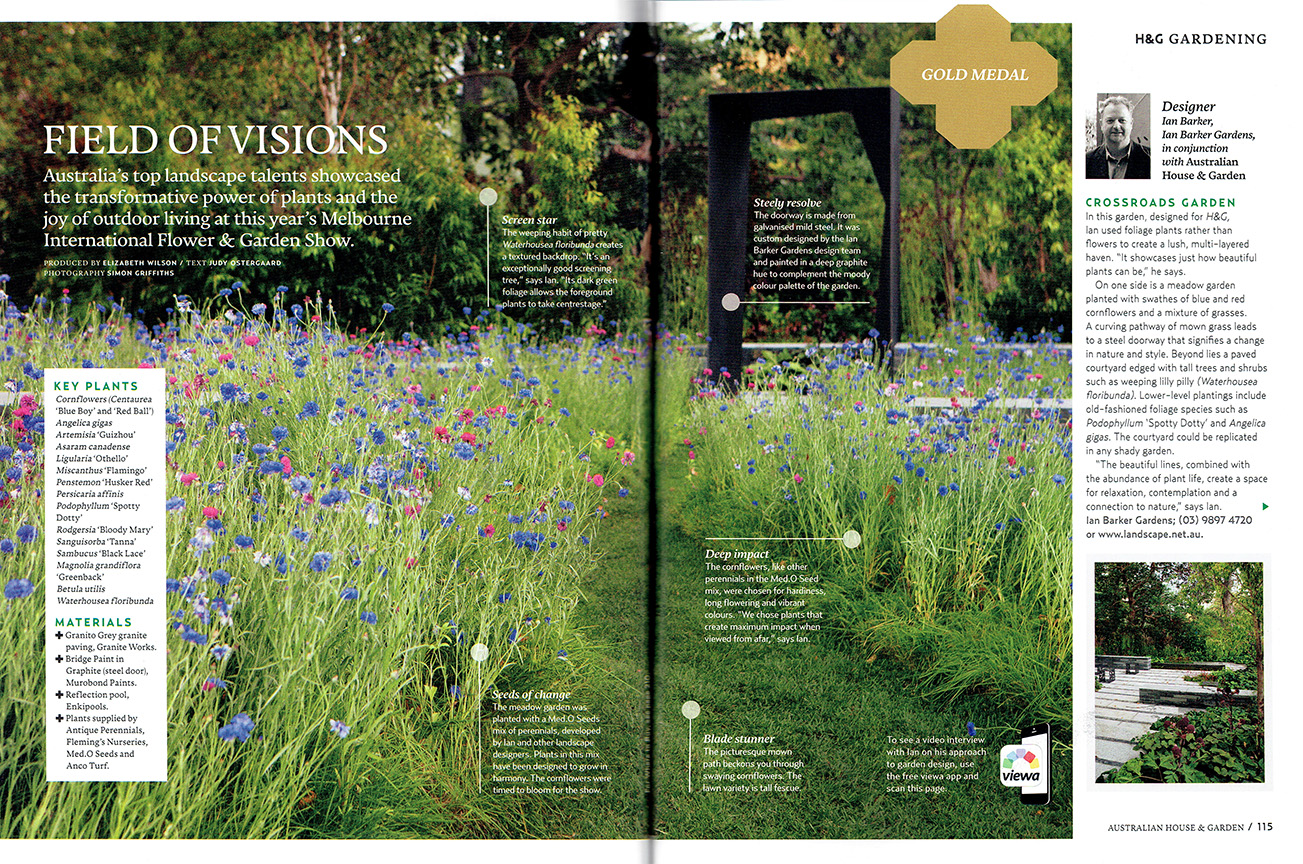 Australian house garden magazine june 2015 feature for Garden design subscription