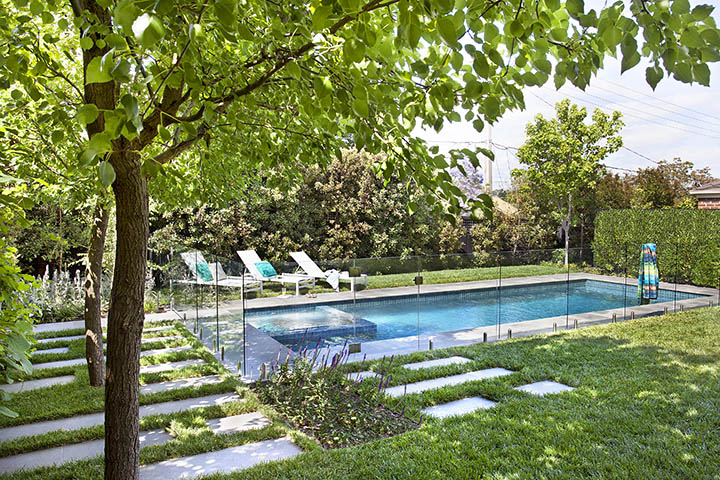 Houzz australia feature stickybeak of the week for Pop up garten pool