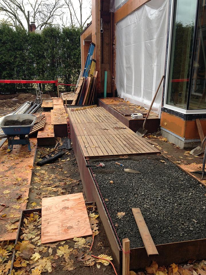 Job of the month connecticut project update ian barker for Landscape design jobs melbourne