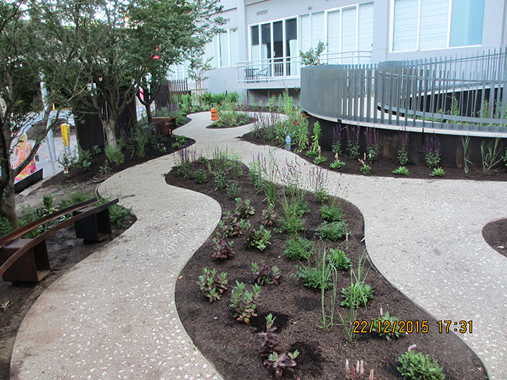 Job of the month southgate project update for Garden design jobs melbourne