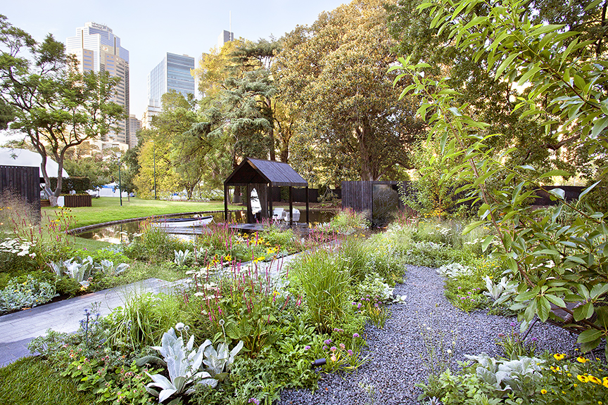 Ian Barker Gardens_Melbourne International Flower & Garden Show 2016_Sally Plottel Photography_Reflection Garden