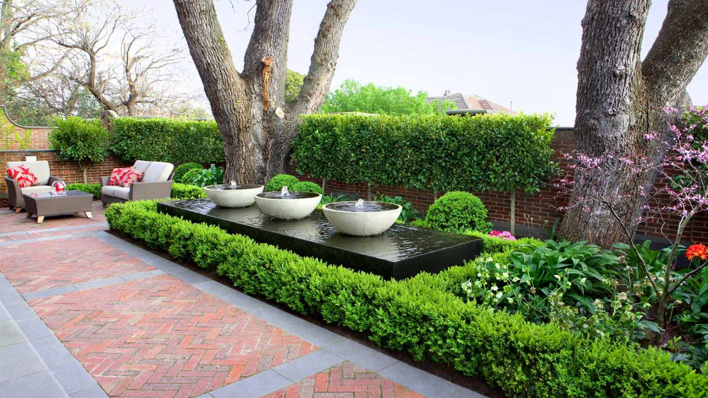 Balwyn garden design project by Ian Barker Gardens