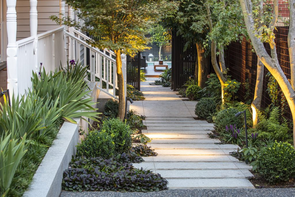 Canterbury garden design project by Ian Barker Gardens