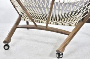 Ian Barker Gardens. Garden Design. Garden Notebook 21. Matt Blatt circle chair