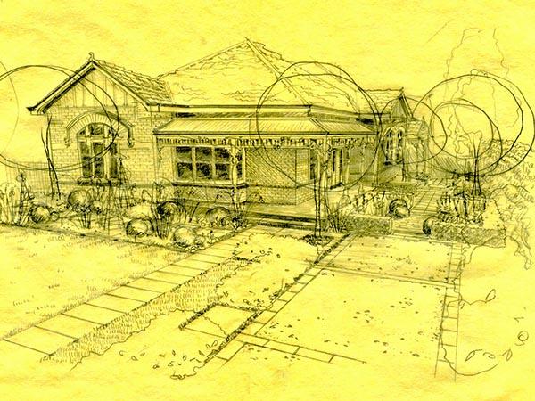 Hawthorn project. Garden Notebook Edition 23. Ian Barker Gardens. Garden Design
