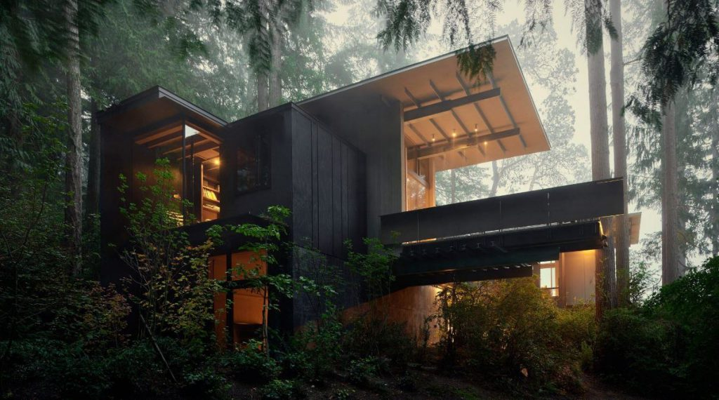 Jim Olson International Architect featured in Ian Barker Gardens, Garden Notebook. Garden Design
