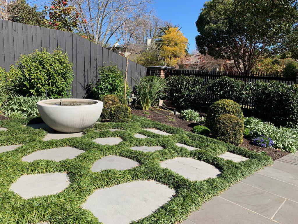 Ian Barker Gardens. Canterbury Garden Design Project. Front garden.