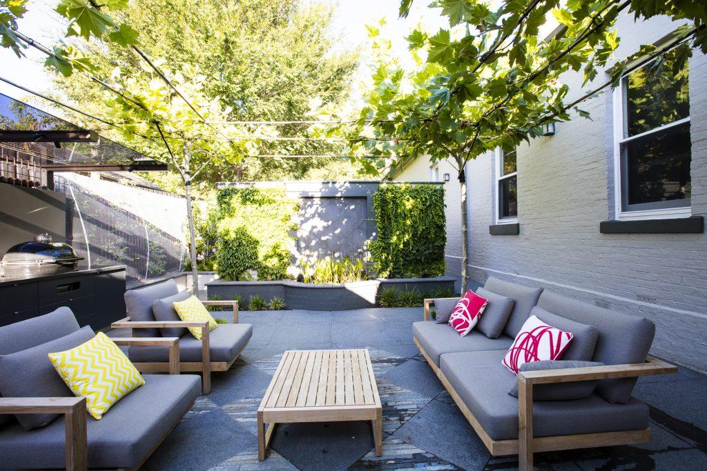 Camberwell garden design project by Ian Barker Gardens