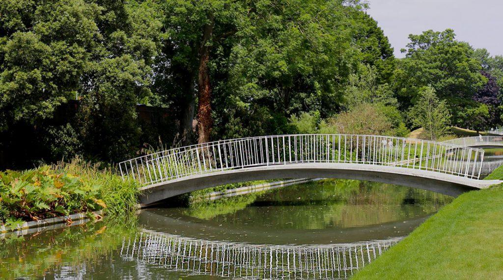 The Jellocoe Water Gardens Park, Hemel Hempstead, UK - featured in Ian Barker Gardens, Garden Notebook
